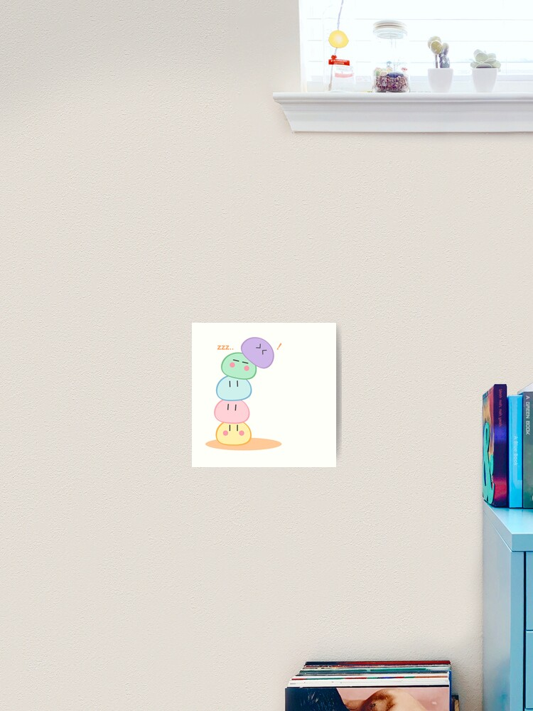 Kawai Dango Clannad Art Print By Aperspective Redbubble