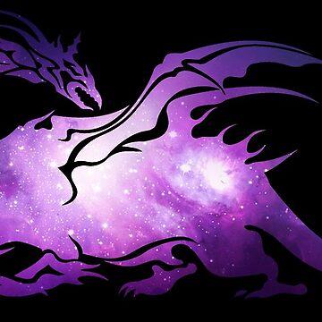 -FINAL FANTASY- Final Fantasy Galaxy Logo by WubbaDubb