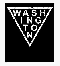 Stylish Washington Photographic Print