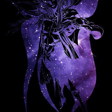 -FINAL FANTASY- Final Fantasy II Galaxy Logo by WubbaDubb