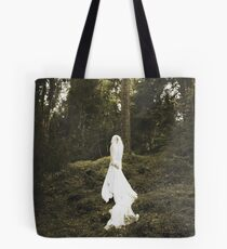Winter's Bride Tote Bag