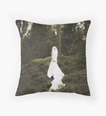 Winter's Bride Throw Pillow