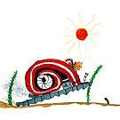 Diesel Powered Turbo Snail by heartloose