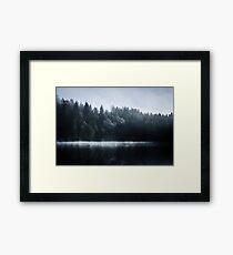 Misty Winter Morning Framed Print