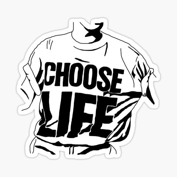 Choose Life - Wham! George Michael Sticker