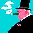 Winston Churchill by drawgood