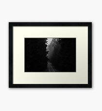 Not The Road Home Framed Print