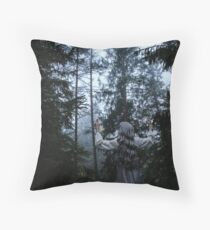 Homage To The Forest Throw Pillow