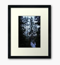 Homage To The Forest Framed Print