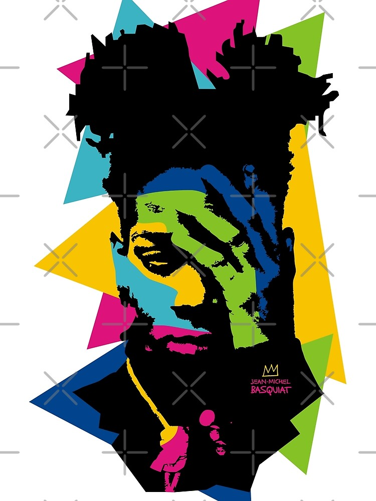 Basquiat color by silencedesign