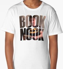 BOOK NOOK - Christian Borle Long T-Shirt