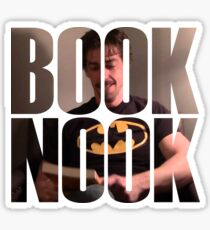 BOOK NOOK - Christian Borle Sticker