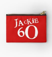 Red Holiday Editions Jackie 60 Logo  Zipper Pouch