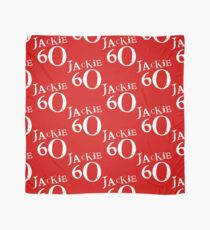 Red Holiday Editions Jackie 60 Logo  Scarf