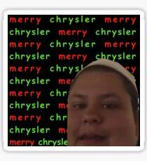 Merry Chrysler Christine Sydelko Sticker