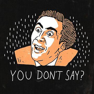 Nicolas Cage by RonanLynam