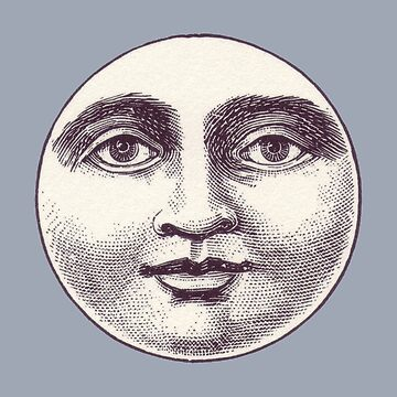 Man In The Moon Face by Zehda
