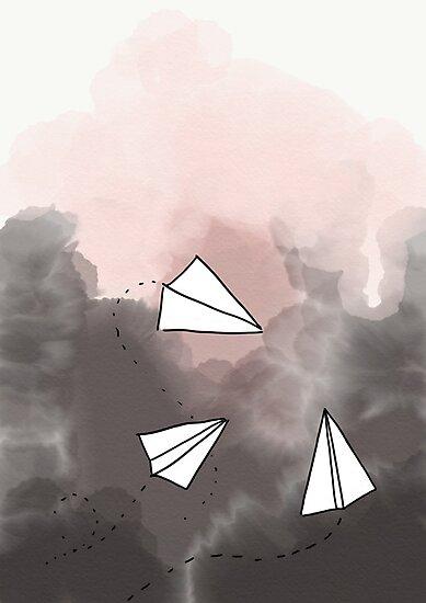 Paper planes by Dodozaro
