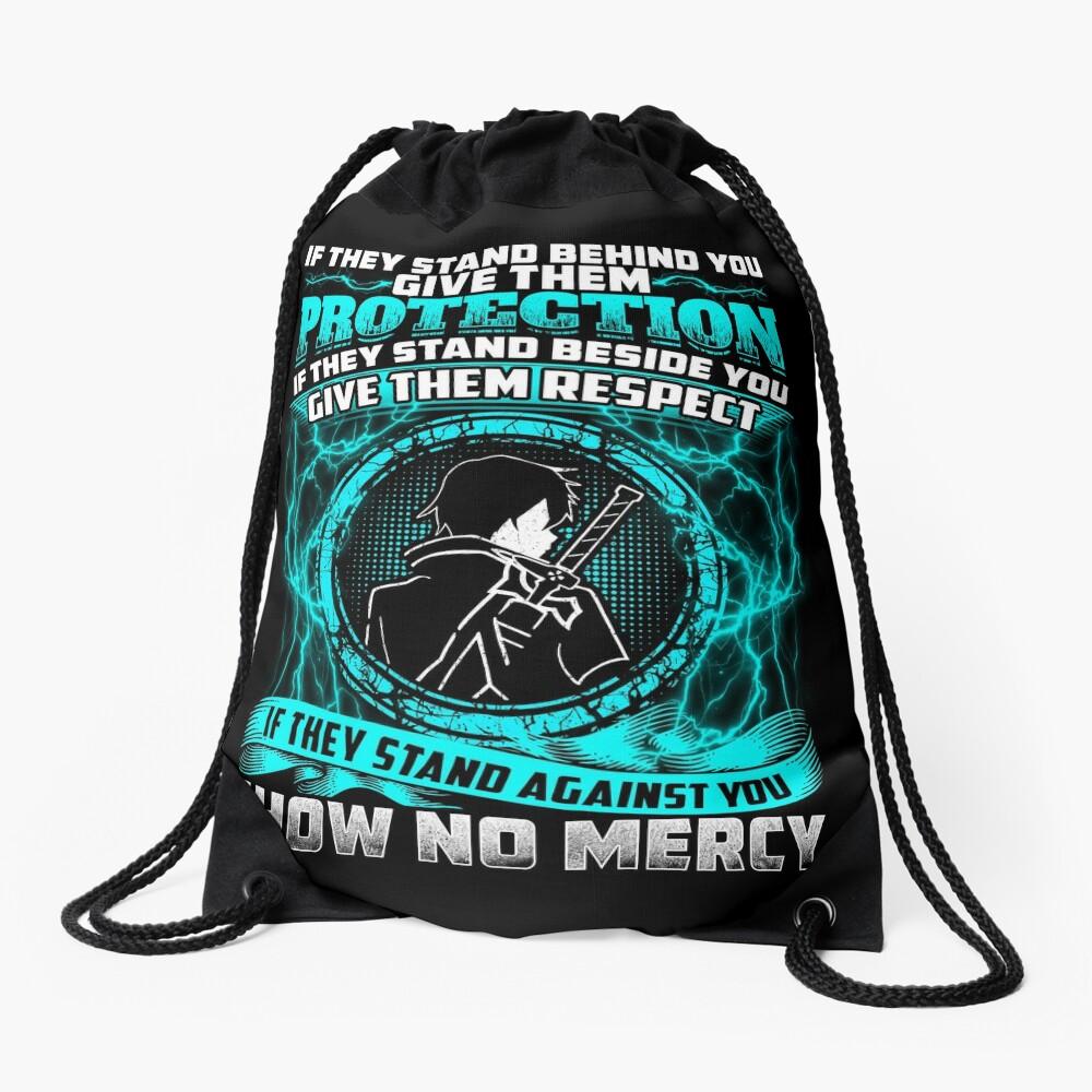 SAO - No mercy Drawstring Bag