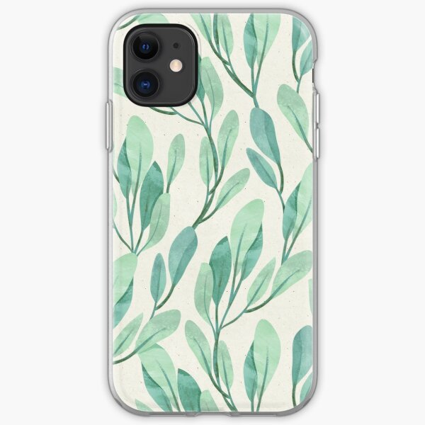 Simple Teal iPhone Soft Case