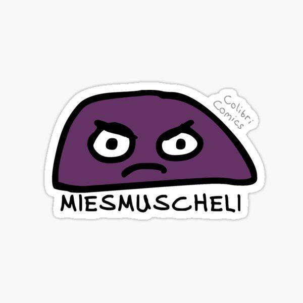 Miesmuscheli Sticker