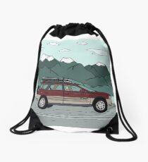 Road Tripping! Drawstring Bag