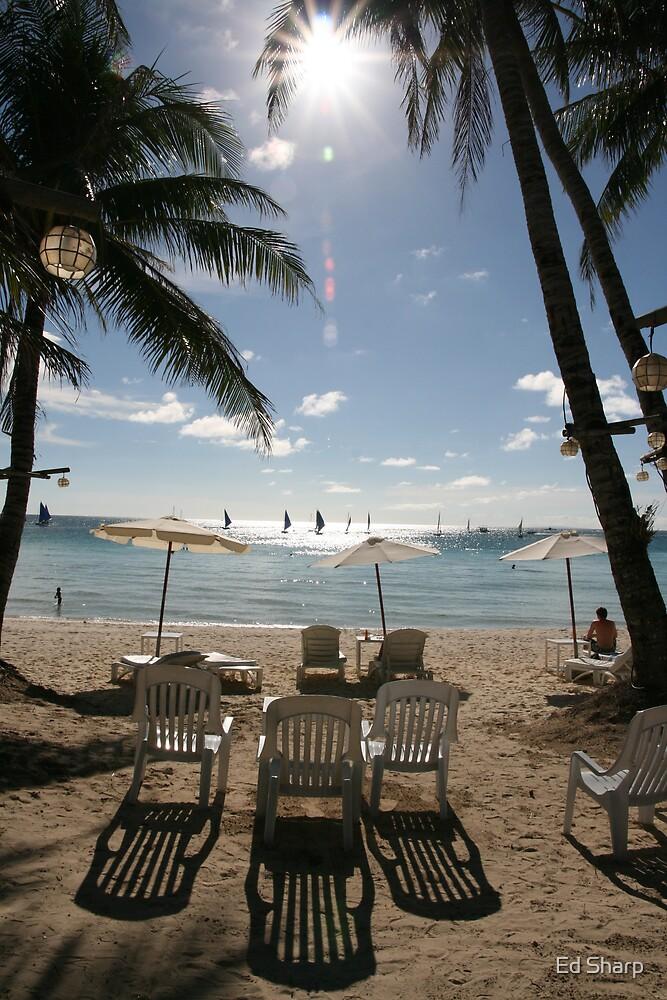 Beach chairs by Ed Sharp