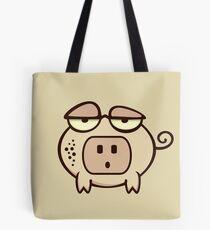 Socket Nose Piggy VRS2 Tote Bag