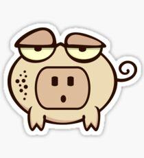 Socket Nose Piggy VRS2 Sticker