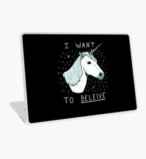 Unicorn Shirt Laptop Skin