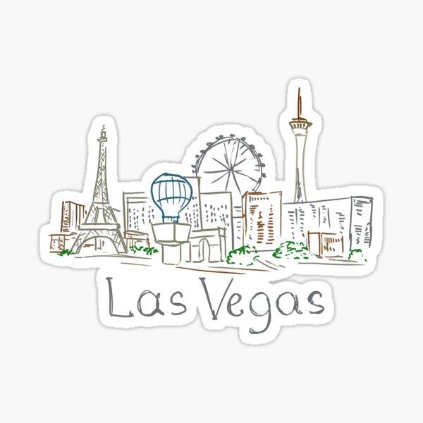 Las Vegas Panorama Sticker