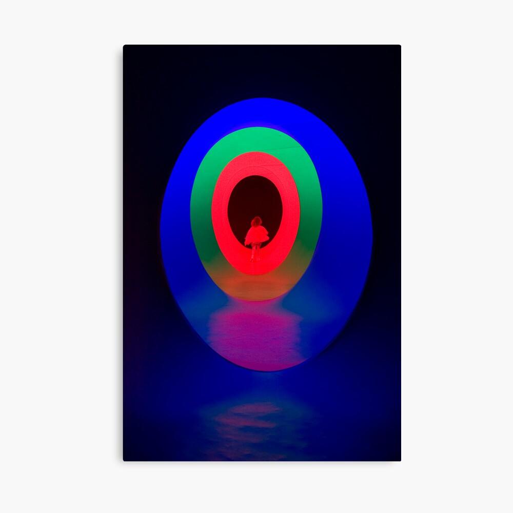 Rainbow Ovals Canvas Print