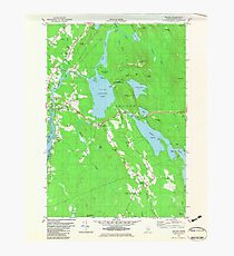 Maine USGS Historical Map Orland 807002 1982 24000 Photographic Print