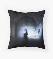 Shadow Walking Throw Pillow