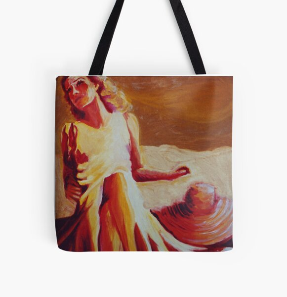 Baking in the Sun All Over Print Tote Bag