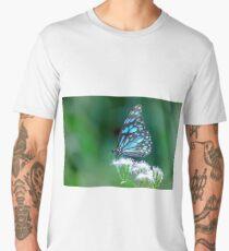 Blue spotted milkweed butterfly Men's Premium T-Shirt