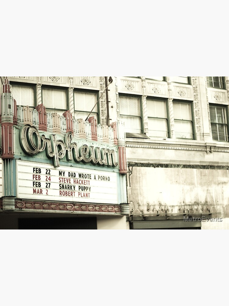 Orpheum Theatre in Los Angeles by MetroEvents