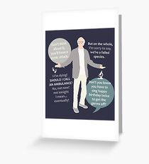 Larry David Quotes Greeting Card