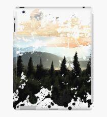 Mountains Painted Landscape iPad Case/Skin