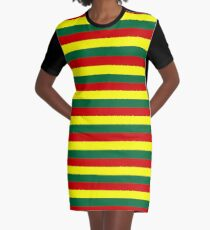 bolivia guinea flag Grenada mali Senegal Portugal stripes Graphic T-Shirt Dress