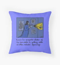 Conscientious Projector Throw Pillow