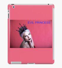 EVIL PRINCESS https://twinprincess.wixsite.com/2-princesses iPad Case/Skin