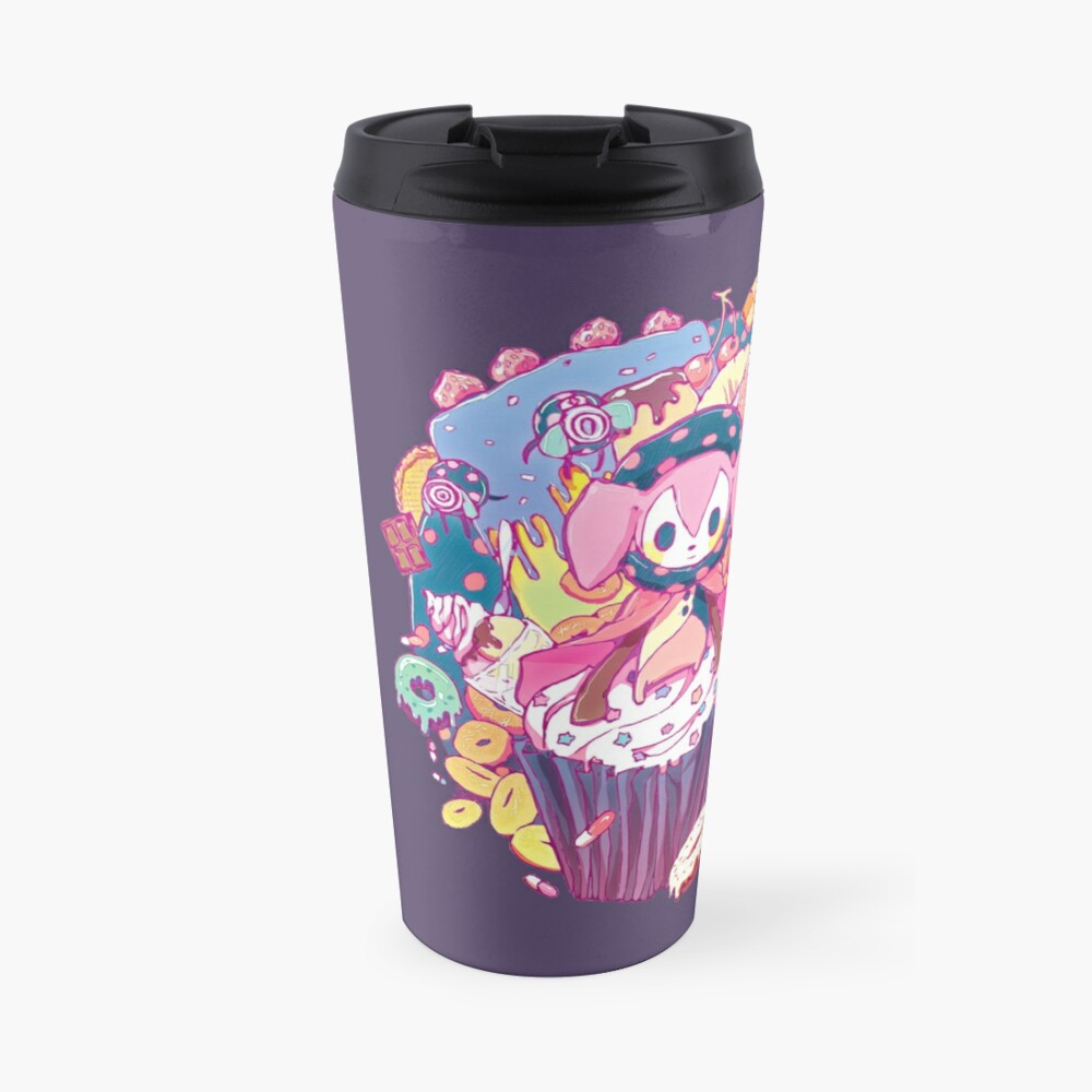 Puella Magi Magica Madoka - Charlotte and Friends Travel Mug
