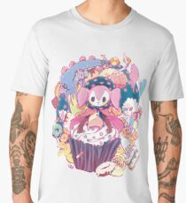 Puella Magi Magica Madoka - Charlotte and Friends Men's Premium T-Shirt