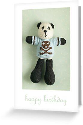 preston birthday by bunnyknitter