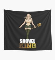 Shovel King Wall Tapestry