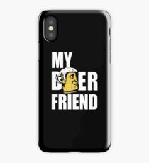 My Beer Friend - Cool Funny Drinking Design iPhone Case/Skin