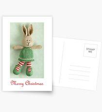 christmas bunny girl (2) Postcards