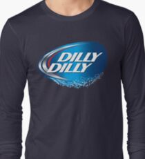 dilly dilly bud light 1 Long Sleeve T-Shirt