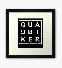 Stylish Quad Bike Framed Print